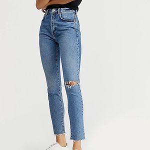 NWT Free People Stella skinny jeans, size 30